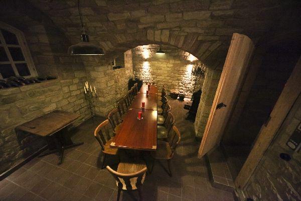 Chateau Prison Gewölbe
