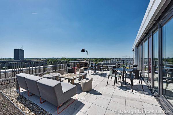 Design Offices Dachterrasse