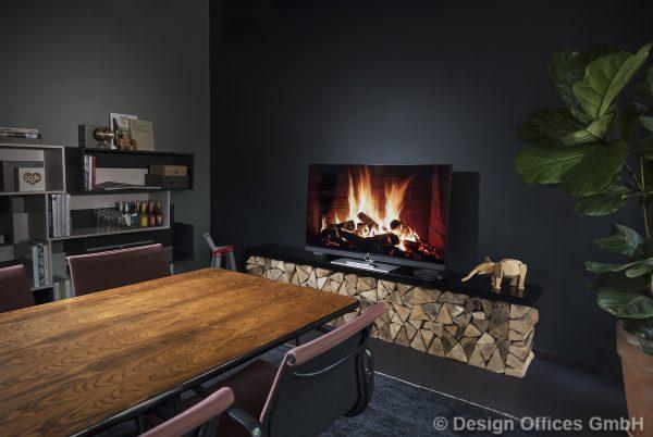 Design Offices Fireside Room