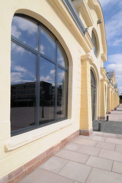 Reithalle Rastatt Fassade